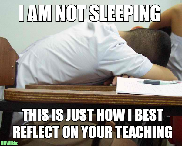 Avoid Sleeping During Class - VisiHow