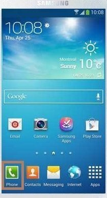 how to set up voicemail on samsung s4