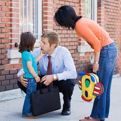 how to help a child with separation anxiety at school
