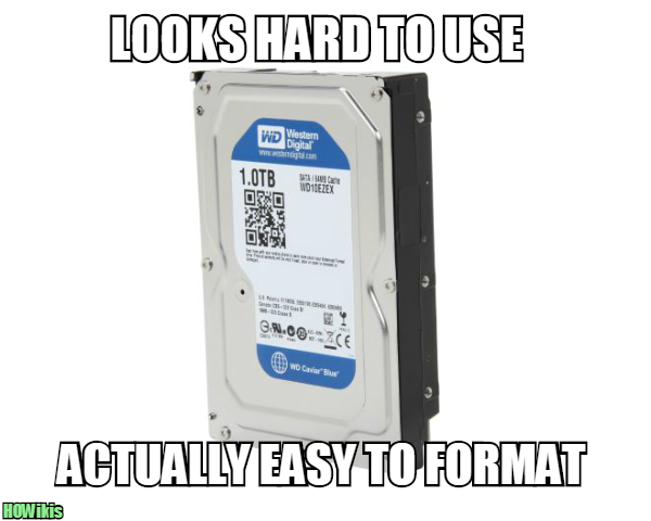 how to back up hard drive before formatting