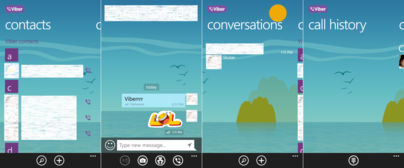 how to delete contacts on viber on windows